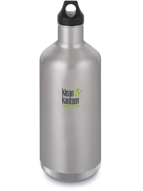 Klean Kanteen Classic Vacuum Insulated Bidon Loop Cap 1900ml szary